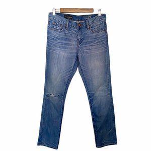J.Crew Slim Broken In Boyfriend Distressed Jeans